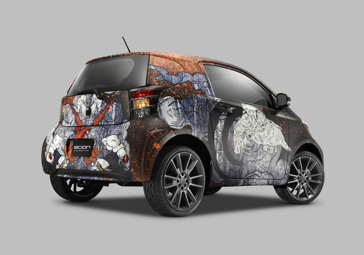 Scion Iq Art Car